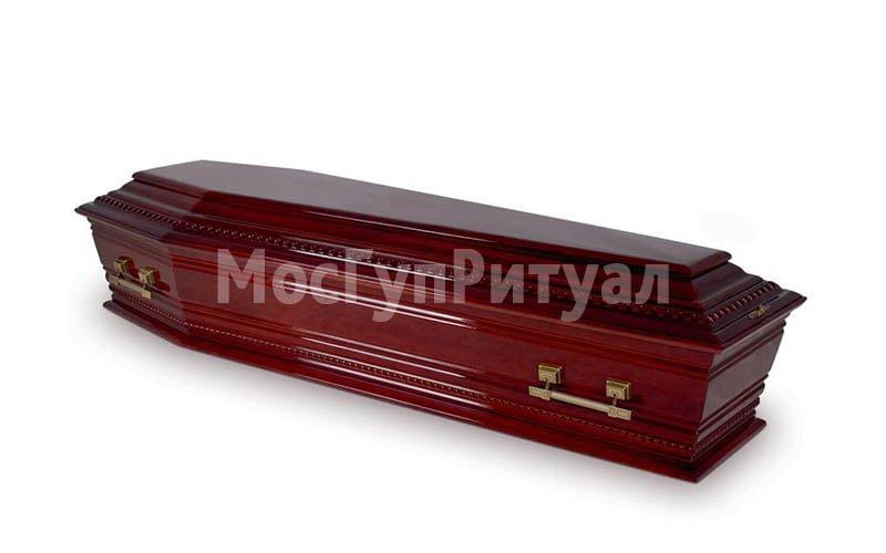 Гроб лакированный №12