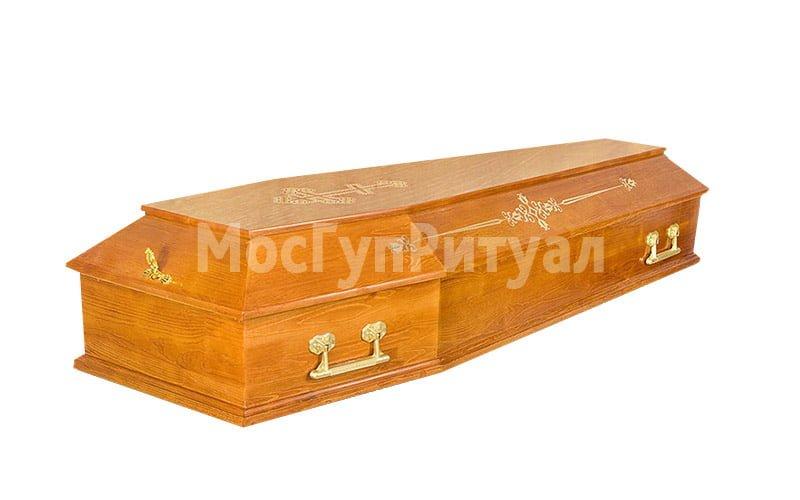 Гроб лакированный №07