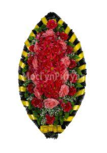 Венок ритуальный на похороны серия «стандартный» №21